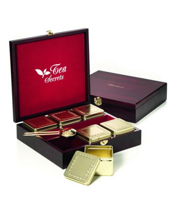 Drvena kutija za čaj