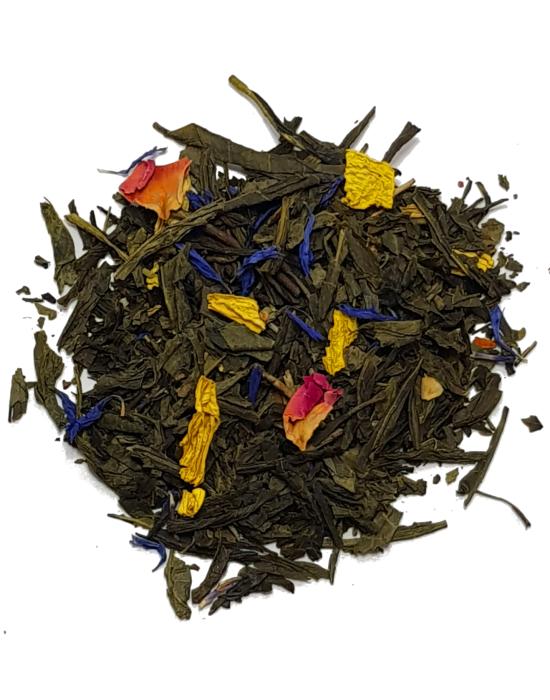 Green tea mango