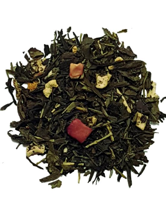 Zeleni čaj jabuka, limeta i kiwi