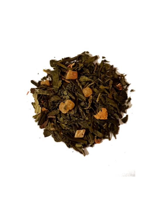 Zeleni čaj Marakuja papaja