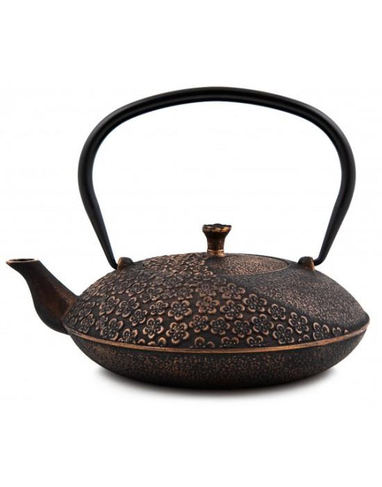 Čajnik gusani crno zlatni 1,1 l
